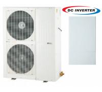 Тепловой насос Sundez SDDC-125-B воздух-вода, 17.2 кВт, EVI инвертор