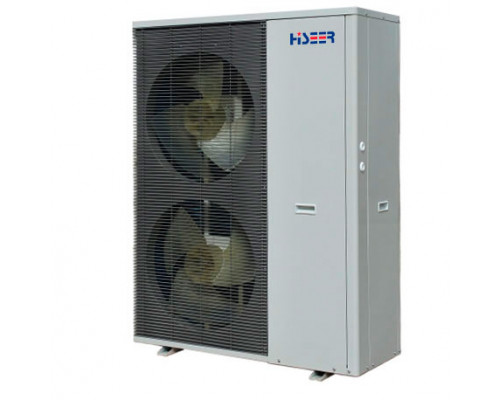 Тепловой насос воздух-вода Hiseer AS20V, 20 кВт, инверторный моноблок