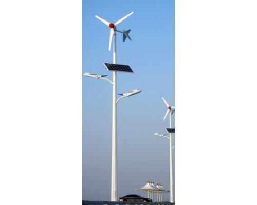 Автономный ветро-солнечный фонарь уличного освещения AR-SDWL-8104