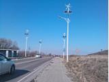 Фонари автономного уличного освещения