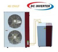 Тепловой насос воздух-вода AS 15V/LF, 15 кВт, EVI инвертор